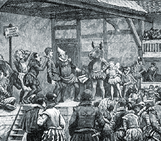 Picture of an Inn Yard Play